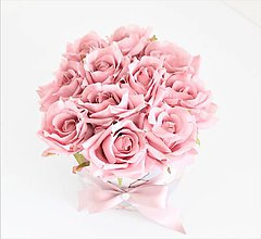 Dekorácie - Flowerbox z ruží - 10614220_