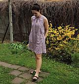 Šaty - ľanové šaty - 10614402_