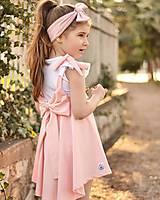 Detské oblečenie - Rastúca sukňa s trakmi Ella - 10615914_