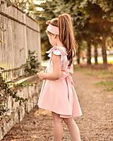 Detské oblečenie - Rastúca sukňa s trakmi Ella - 10615916_