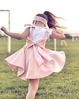 Detské oblečenie - Rastúca sukňa s trakmi Ella - 10615917_