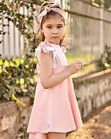 Detské oblečenie - Rastúca sukňa s trakmi Ella - 10615918_