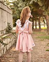 Detské oblečenie - Rastúca sukňa s trakmi Ella - 10615919_