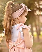Detské oblečenie - Rastúca sukňa s trakmi Ella - 10615920_
