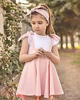 Detské oblečenie - Rastúca sukňa s trakmi Ella - 10615921_