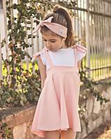 Detské oblečenie - Rastúca sukňa s trakmi Ella - 10615923_