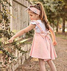 Detské oblečenie - Rastúca sukňa s trakmi Ella - 10615926_
