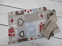Nákupné tašky - EKOtaška plná romantiky - 10613792_