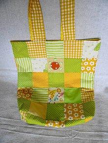 Veľké tašky - Obojstranná taška-leto - 10615878_