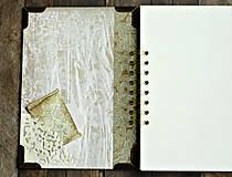 Papiernictvo - Vintage kniha hostí/album/svadobná kniha hostí  - 10615654_