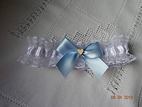 Bielizeň/Plavky - Svadobný podväzok - 10614895_