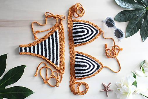 08d8cc6d0 AKCIA - Háčkované plavky Sicília / oveckovo - SAShE.sk - Handmade ...