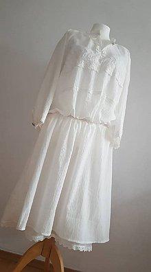 Šaty - Románske šaty - 10614876_