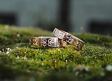 Prstene - Obrúčky s tulipánmi - 10616562_