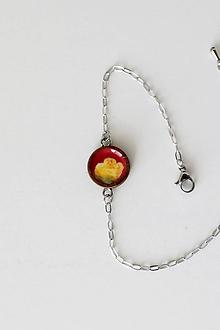 Náramky - Žltá ruža - 10616041_
