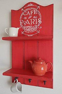 Nábytok - Polička - Cafe de Paris - 10616157_