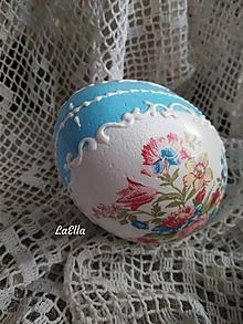 Dekorácie - Blue Lady - 10618320_