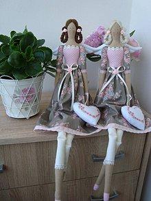 Bábiky - Anjelky na želanie - 10616367_