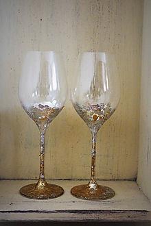 Nádoby - svadobné/slávnostné poháre - 10618096_
