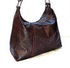 Kabelky - Kožená kabelka Naomi - 10616373_