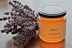 Potraviny - Med s levanduľou - 10616543_