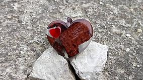 Prívesok red&wood I