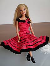 Hračky - Háčkované šaty pre Barbie - 10617266_