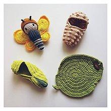 Hračky - Motýľ Žltáčik - 10617206_