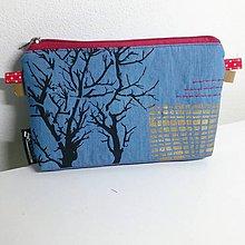 Taštičky - Kapsička stromy - 10618166_