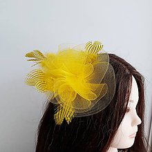 Ozdoby do vlasov - Fascinátor - 10618032_