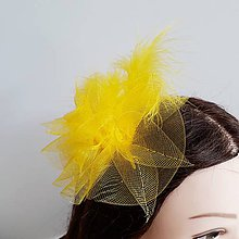 Ozdoby do vlasov - Fascinátor - 10618119_