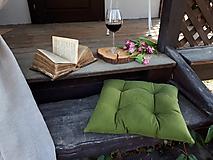 Úžitkový textil - Podsedák Green Passion - 10618332_