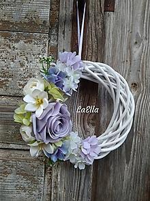 Dekorácie - Veniec Lilac - 10619647_