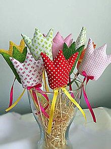 Dekorácie - Tulipán,tulipán - 10620053_