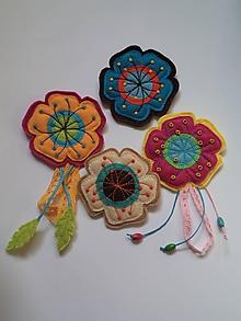 Odznaky/Brošne - Moje kvety jarné - 10621952_