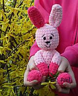 Háčkovaný zajačik - zajka Julka