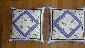 Úžitkový textil - Obliečka na vankúš levanduľová - 10620419_