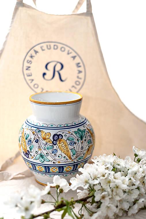 Váza s habánskym dekorom