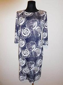 Šaty - Decentní spirály - 10619180_