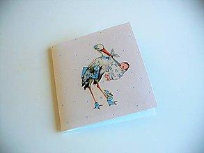 Papiernictvo - dvojobal na CD(hotovosť) pre dvojičky- chlapcov - 10619536_