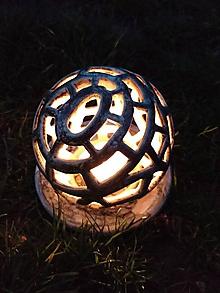 Svietidlá a sviečky - Svietnik (svícen) Koule - 10619291_