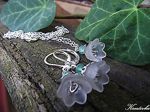 Sady šperkov - Biele konvalinky kvitnú.......(avanturín, Ag 925 - sada) - 10620620_