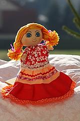 Maňuška. Bábika Lenka, druhá víla zo série 4 ročné obdobia.