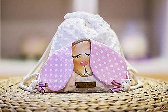 Detské tašky - Ružový batoh Vandrovka - 10621812_