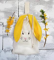 Detské tašky - Zajko slniečko - vrecko - 10620669_