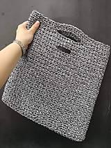 Iné tašky - Háčkovaná taška - 10620991_