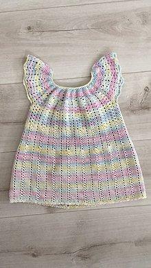 Detské oblečenie - Šaty pre dievčatko - 10621997_