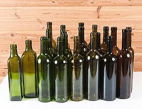 Iný materiál - Fľaša - materiál - 10619474_