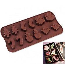 Pomôcky/Nástroje - Forma na výrobu sladkostí s vianočnou tematikou - 10622272_