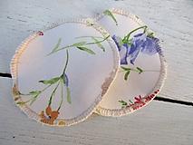 Úžitkový textil - Tampóy pre dojčiace mamičky bez PUL -samé kvety - 10618825_